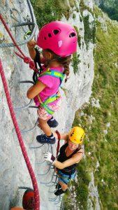 klettersteig met kinderen