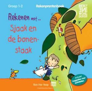 Rekenprentenboek Sjaak en de bonenstaak