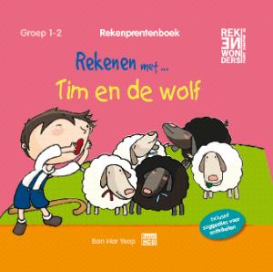 Rekenprentenboek Tim en de wolf