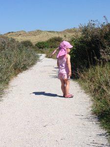 een wandeling duurt met kinderen twee keer zo lang