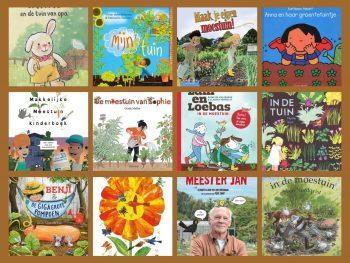 kinderboek moestuin