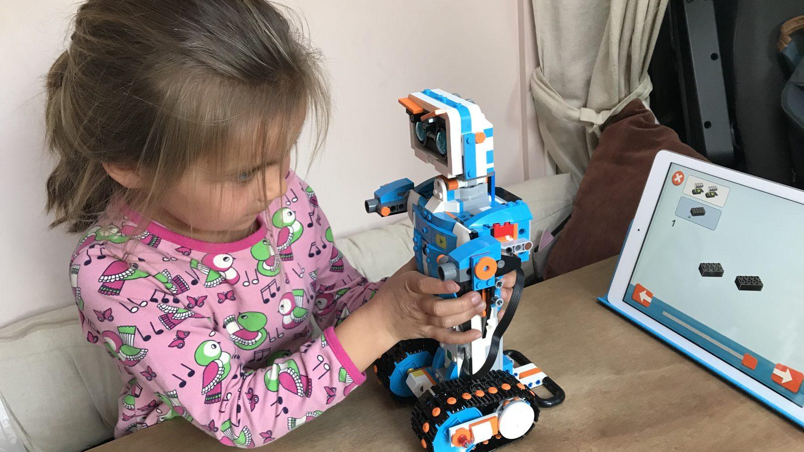 lego programmeren robot bouwen