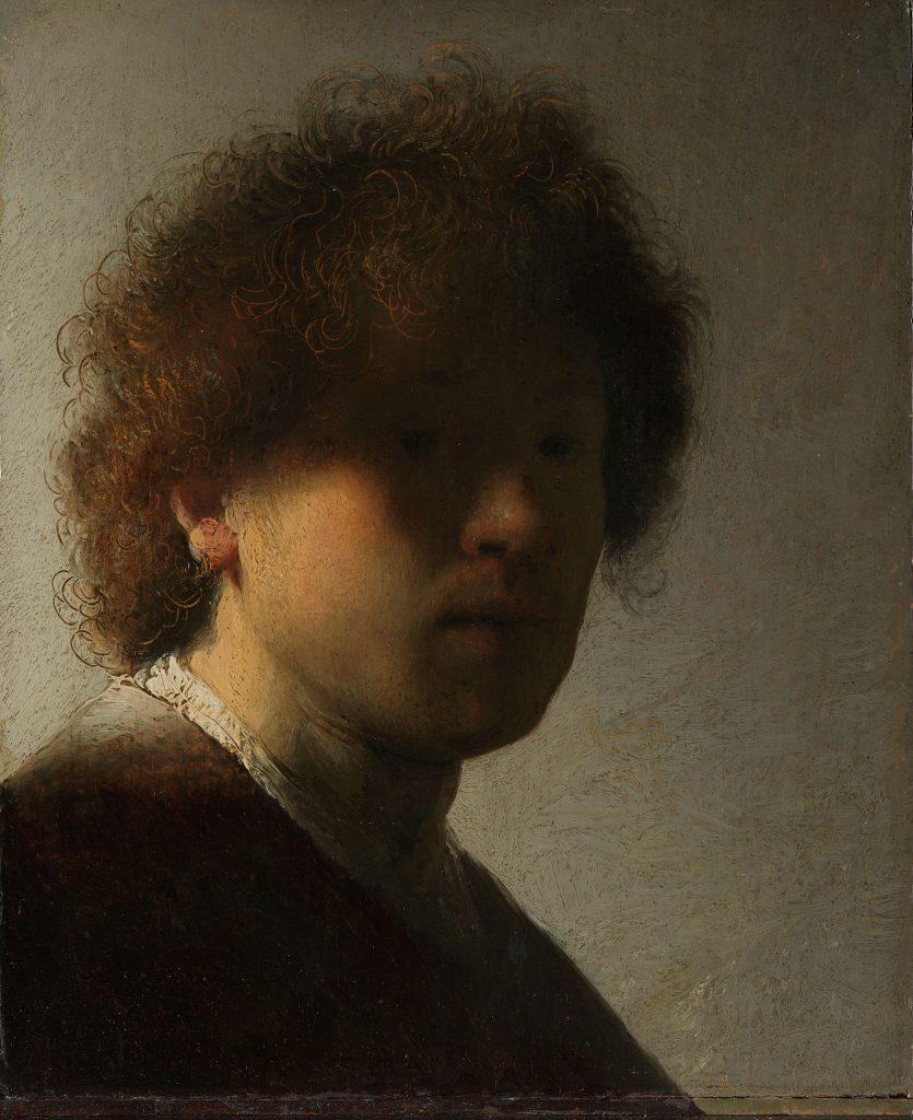 zelfportret Rembrandt Rijksmuseum Rijksstudio