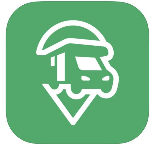 campercontact app voor overnachtingen met de camper