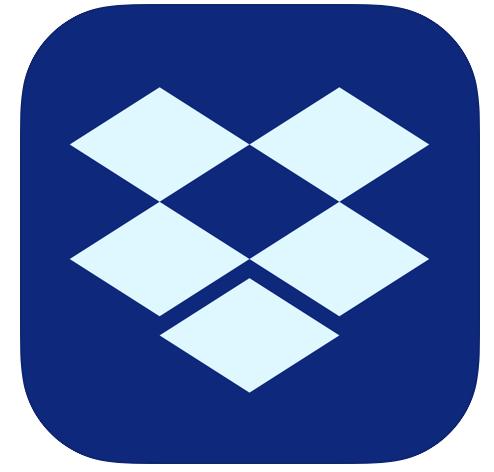 Dropbox app voor reisdocumenten