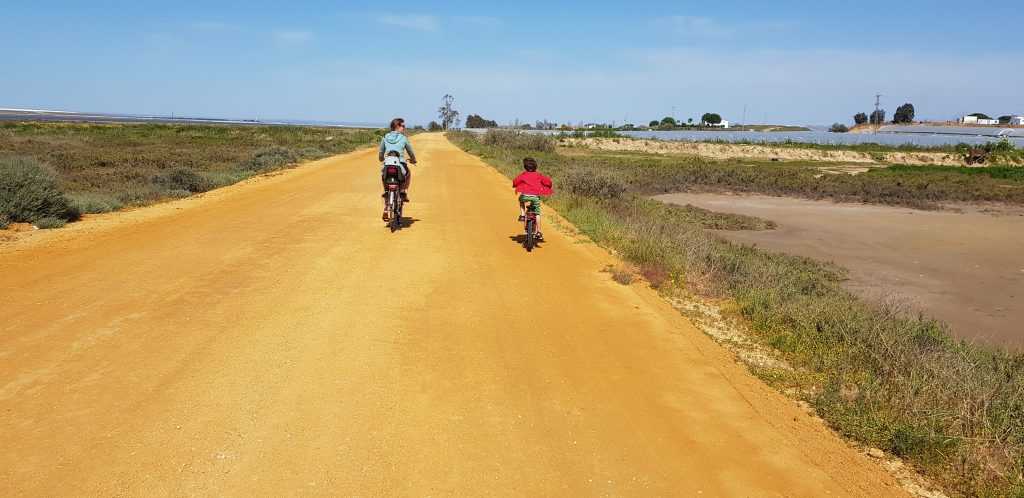 fietsen mee met de camper