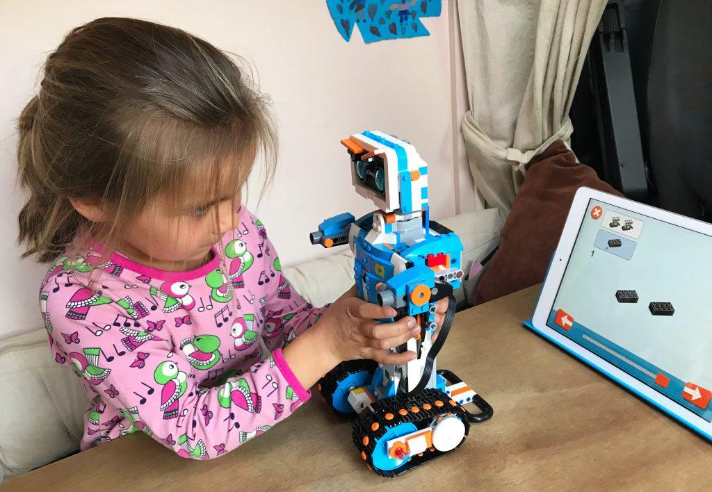 slecht weer activiteiten lego robot bouwen