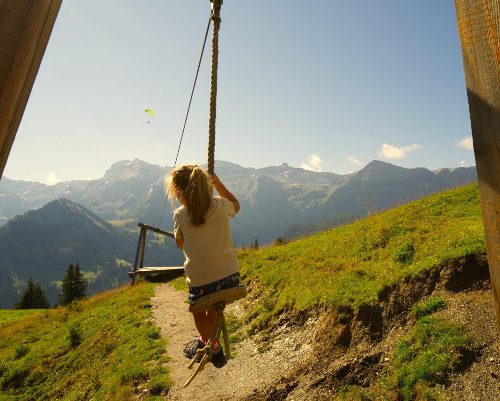 Murmeli trail lenk kabelbaan