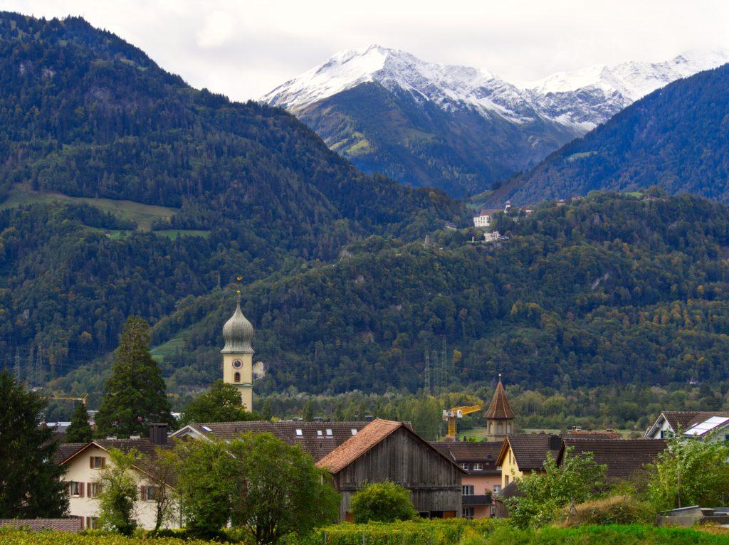 Maienfeld Zwitserland