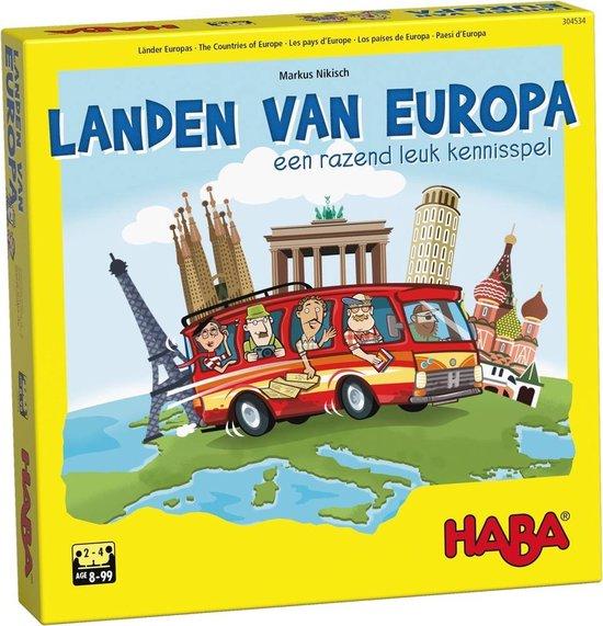 haba landen van europa topografie oefenen