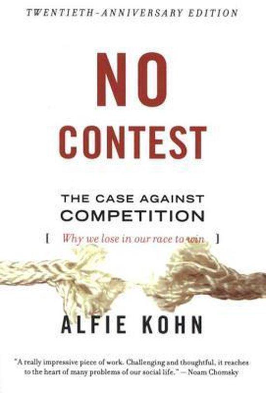no contest alfie Kohn