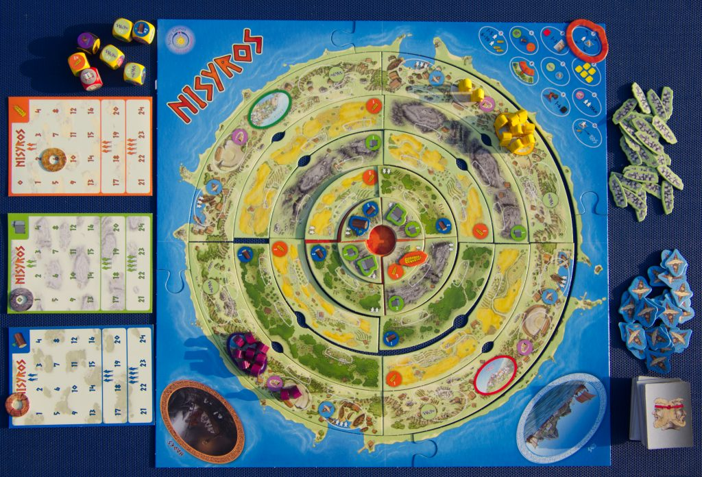 Nisyros spel coöperatief