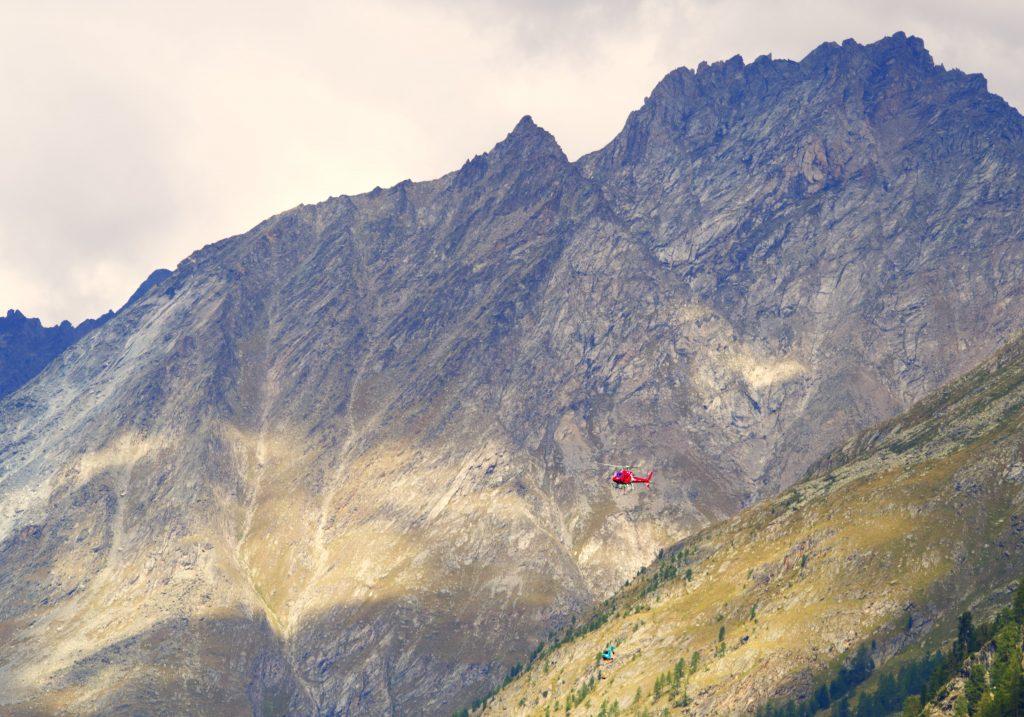 Air Zermatt helikopter