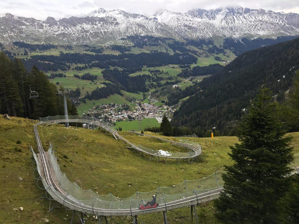 Langste rodelbaan Zwitserland