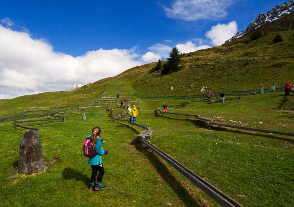 langste murmelibahn van Zwitserland