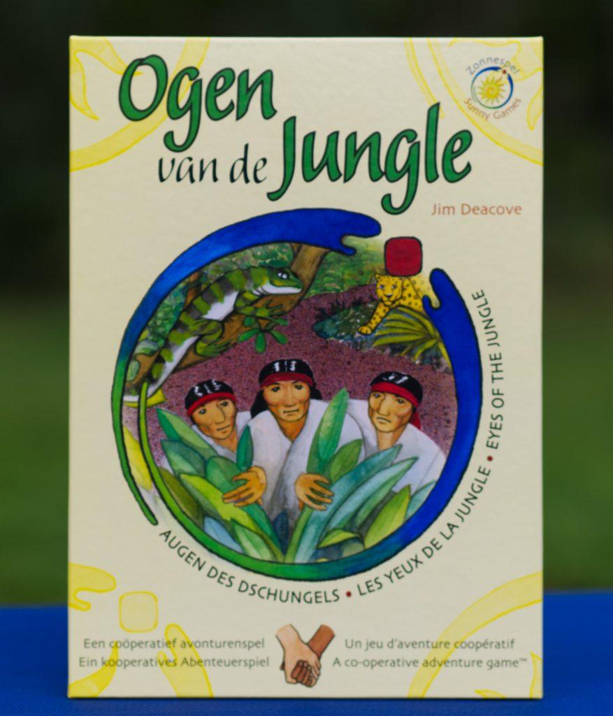 Ogen van de Jungle Sunny Games