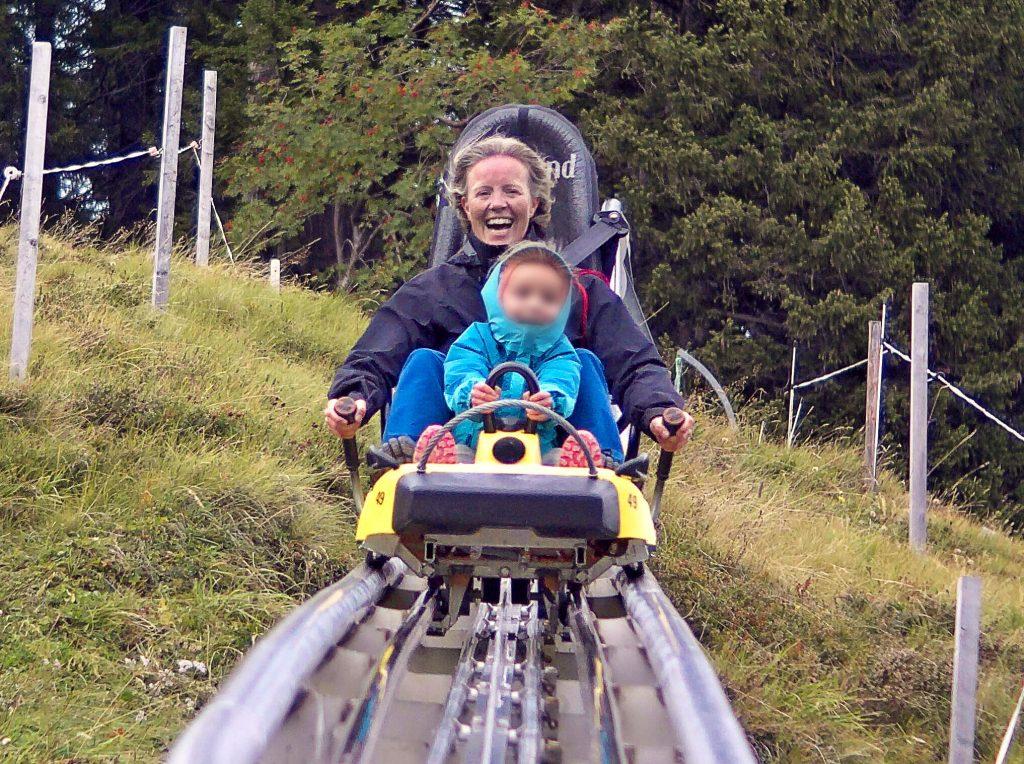 langste zomerrodelbaan Zwitserland