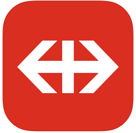 SBB Mobile app Zwitserland