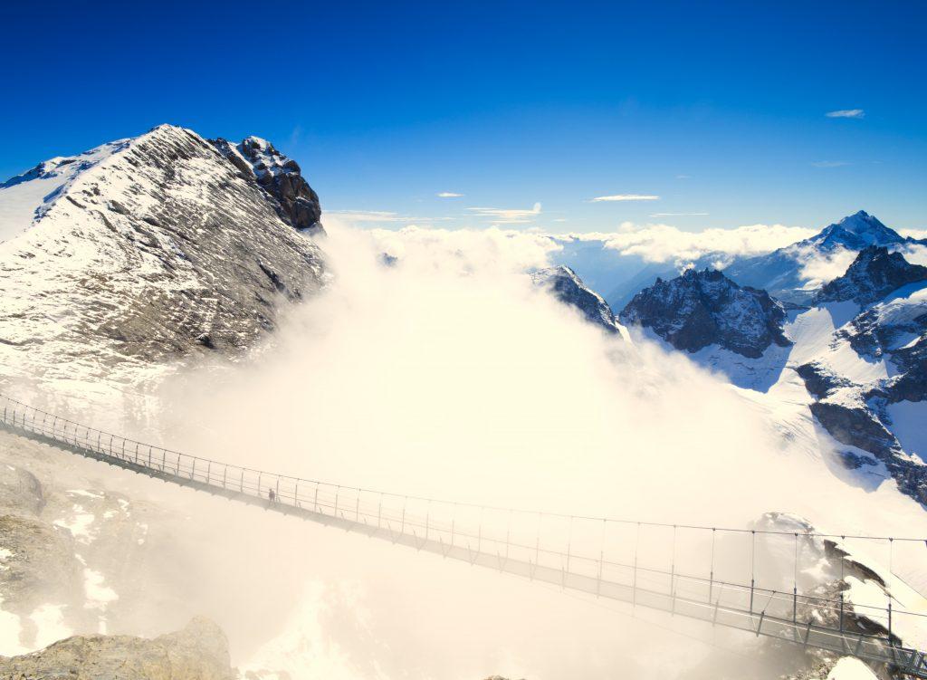 Engelberg Zwitserland Titlis Cliffwalk