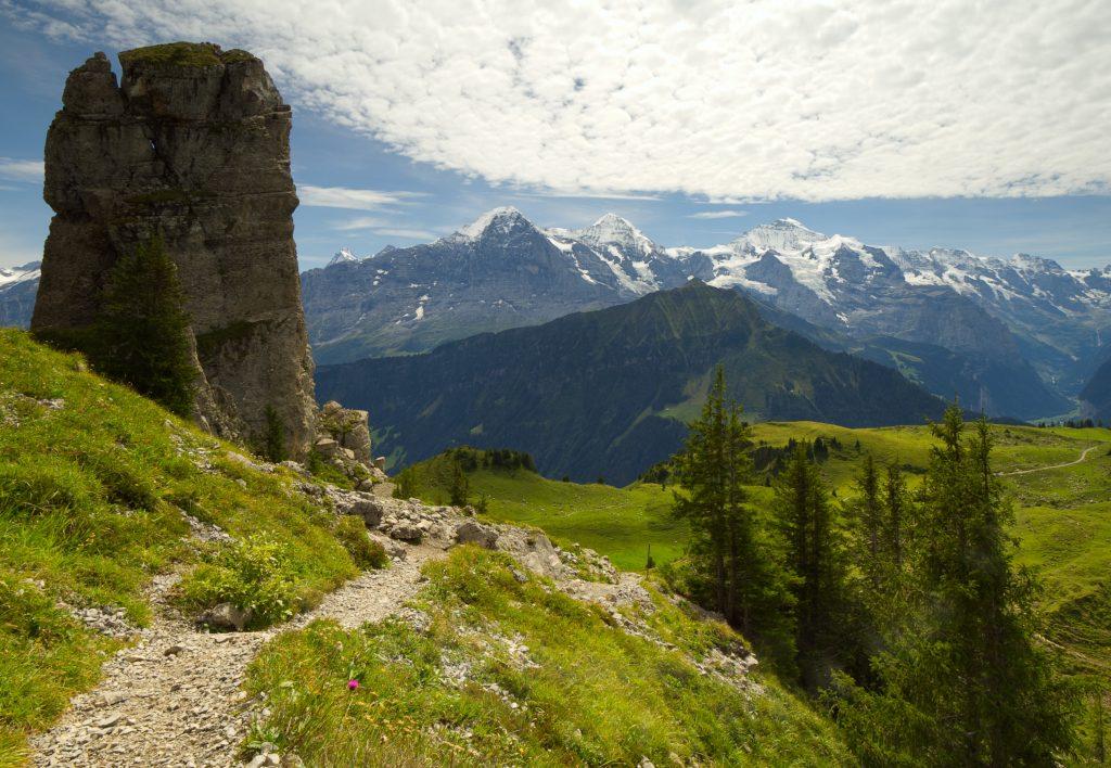 Jungfraujoch in de verte