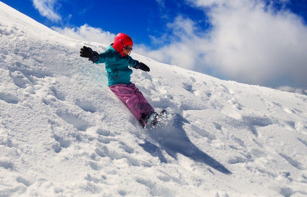 spelen in de eeuwige sneeuw Zwitserland
