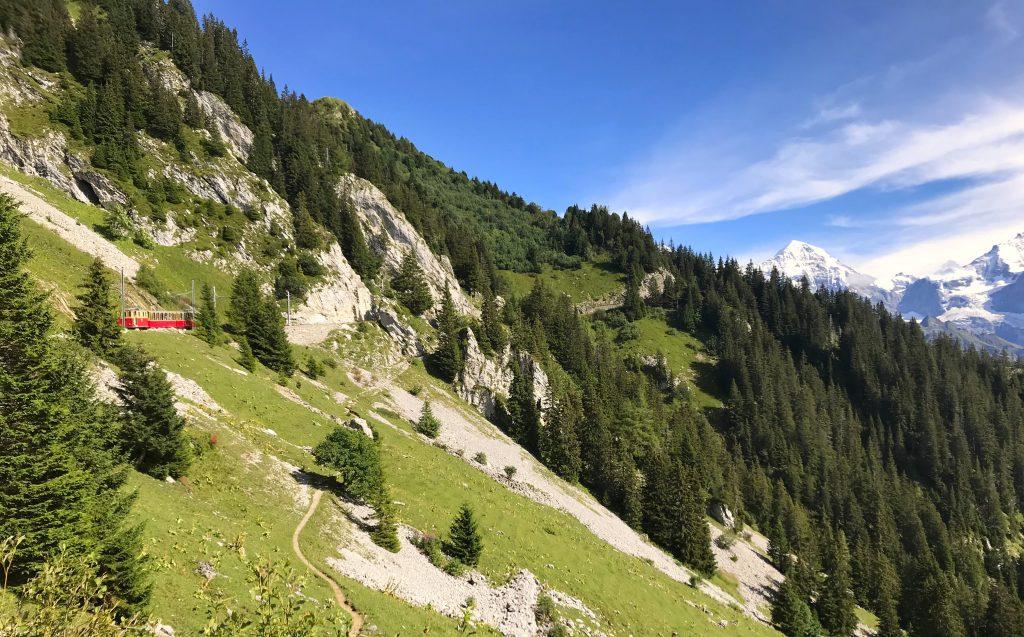 tandradbaan Schynige Platte Jungfrau